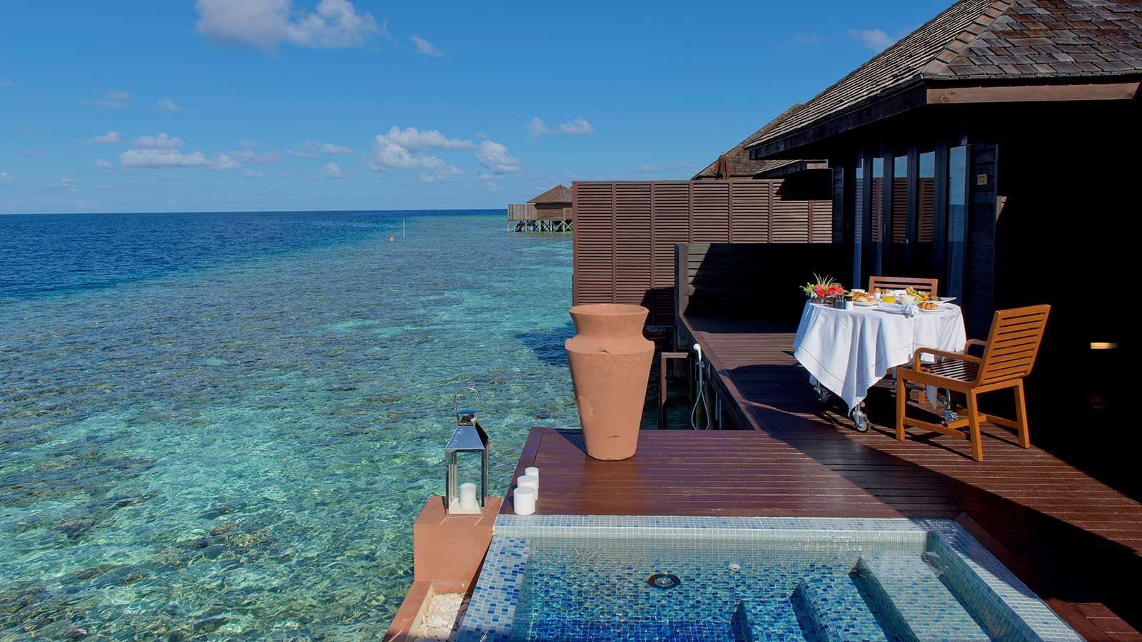 Maldives Deluxe Water Villas Maldives Accommodation