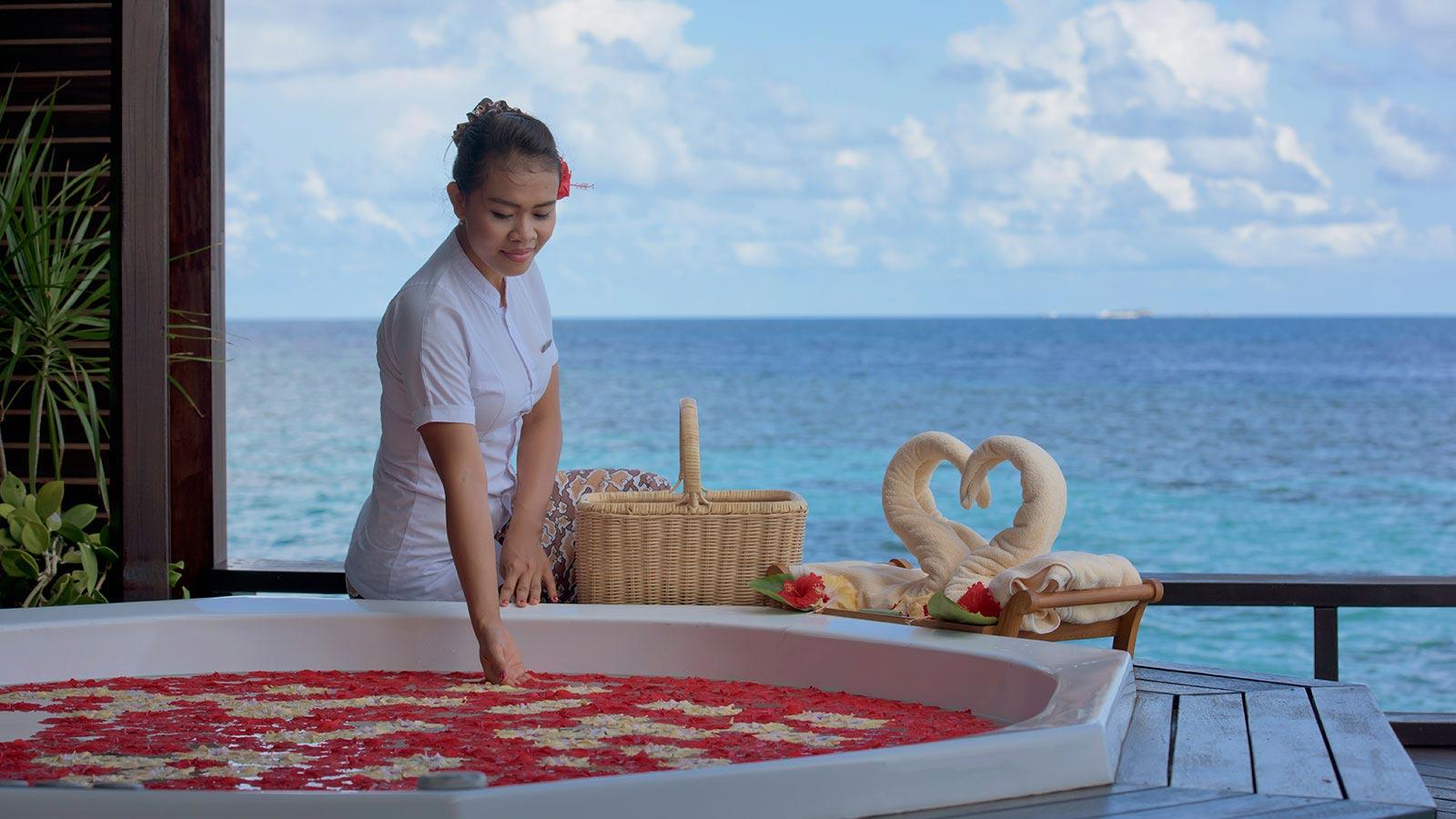 Maldives Spa - Tamara Spa at Lily Beach