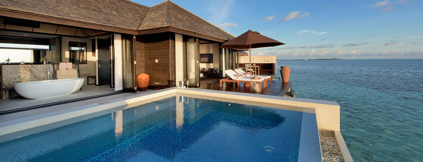 Luxury maldives villas at lily beach resort spa for All inclusive luxury beach resorts