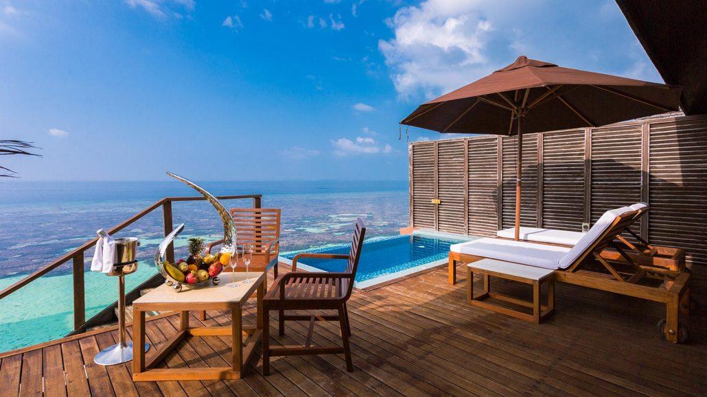 Maldives Deluxe Water Villas Maldives Accommodation