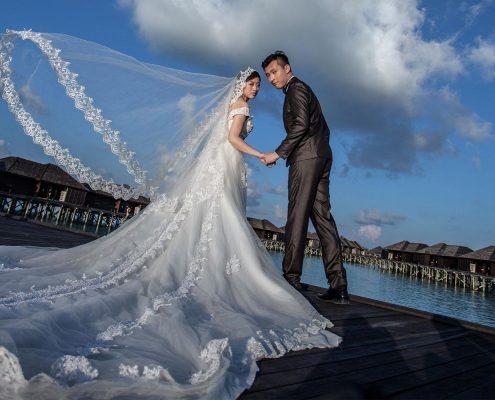Maldives wedding Lily Beach
