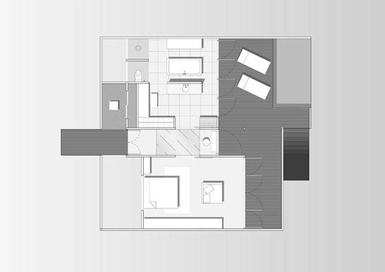 Deluxe Water Villa Floor Plan