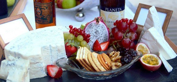 Lily Beach Maldives Cheese & Wine Pairing