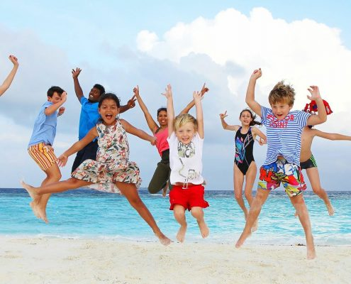Lily Beach Maldives for families
