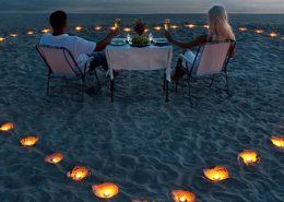 Valentine's Day Dinner at Lily Beach Resort Maldives