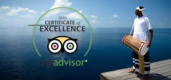 Lily Beach Maldives Certificate of Excellence