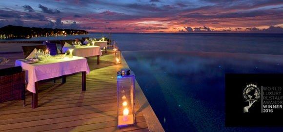 Les Turquoise d'Aqua at Lily Beach – Luxury Restaurant Winner