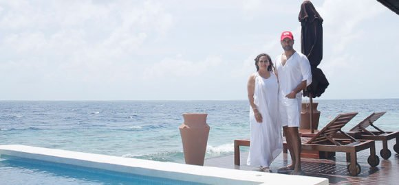 Rohit Roy Lily Beach Maldives