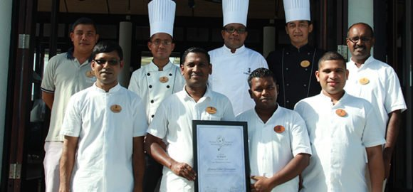 Les Turquoise d'Aqua Luxury Hotel Restaurant Award – Lily Beach Maldives