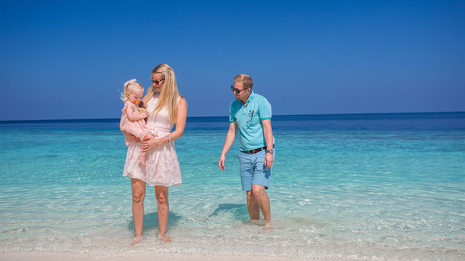 Family Holiday Lily Beach Maldives