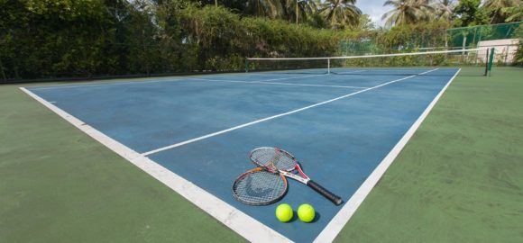 Tennis Court at Lily Beach Maldives