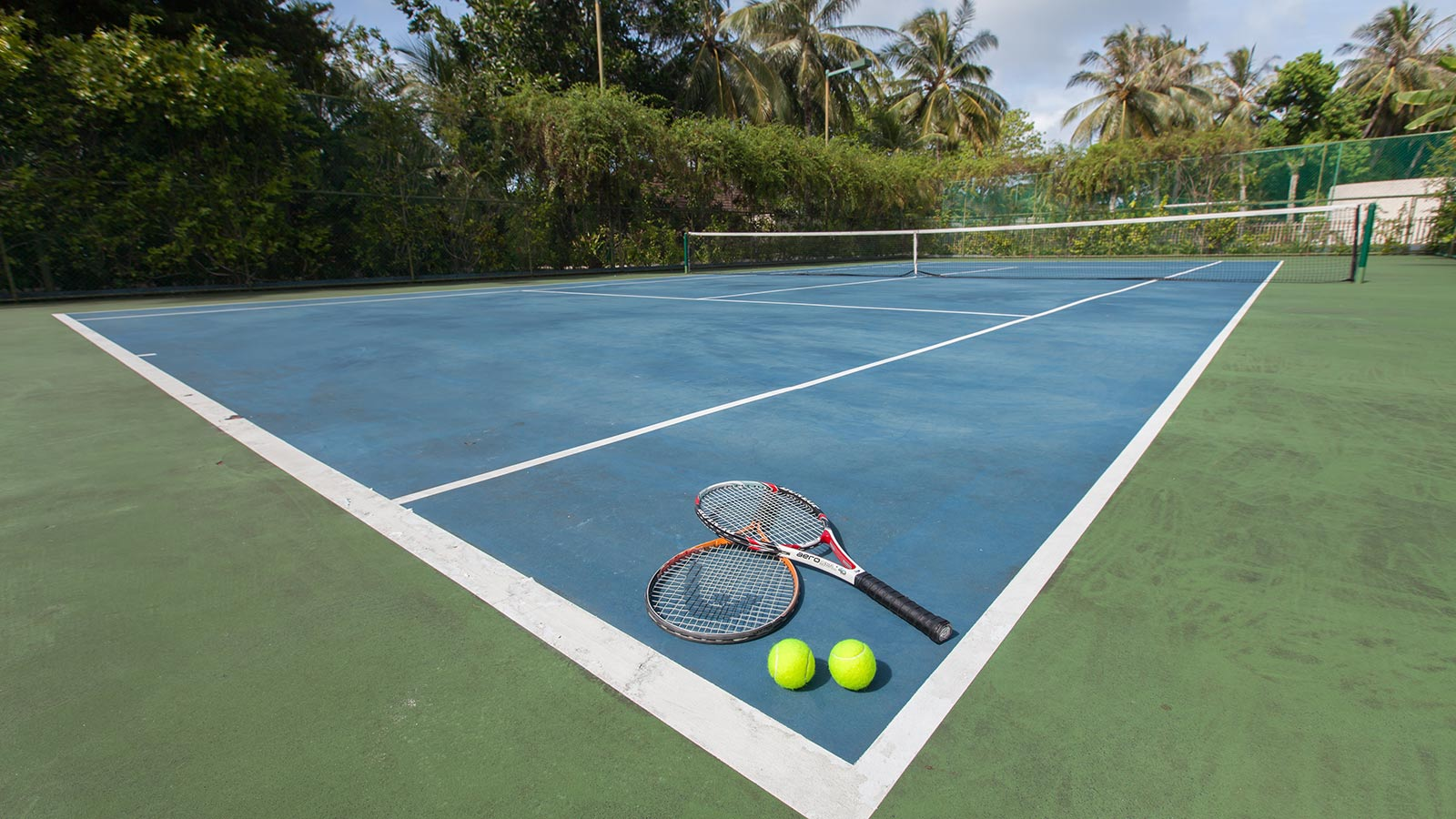 Tennis Court at Lily Beach Maldives
