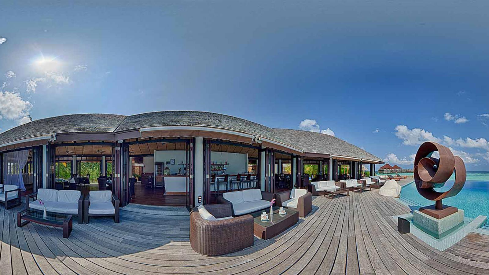 Aqva Bar Lily Beach Maldives 360 Tour