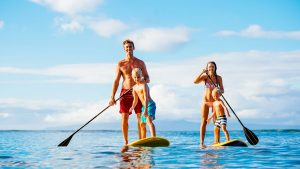 Stand Up Paddle at Lily Beach Maldives
