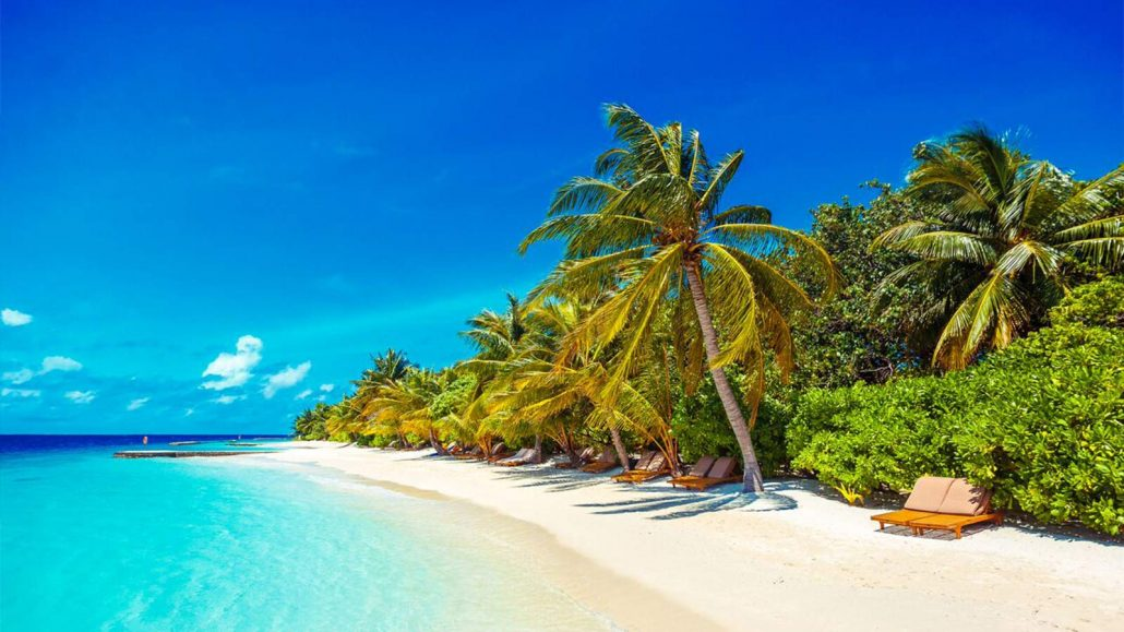 Direct Tv Satellite >> Beach Villas at one of the Maldives Top Resorts