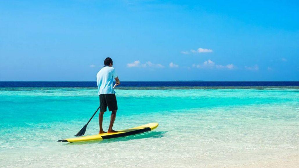 Beach Villas At One Of The Maldives Top Resorts
