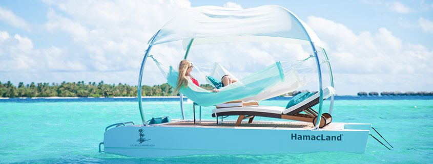 Lily Beach Introduces A New Floating Hammock
