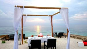 Private Dinner at Lily Beach