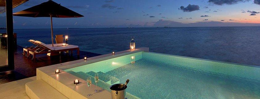 Sunset Water Suite Maldives Luxury Water Villas