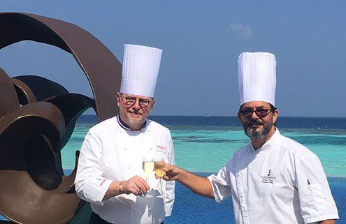 Chef Bernard Leprince Dining Experience at Lily