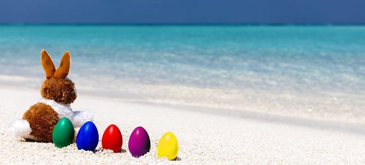 Easter activities at Lily Beach