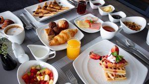 Exquisite food at Maagiri Hotel
