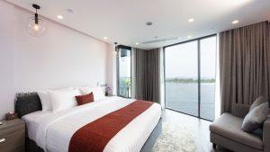 Elegant rooms at Maagiri Hotel