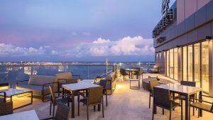 Panoramic views at Maagiri Hotel