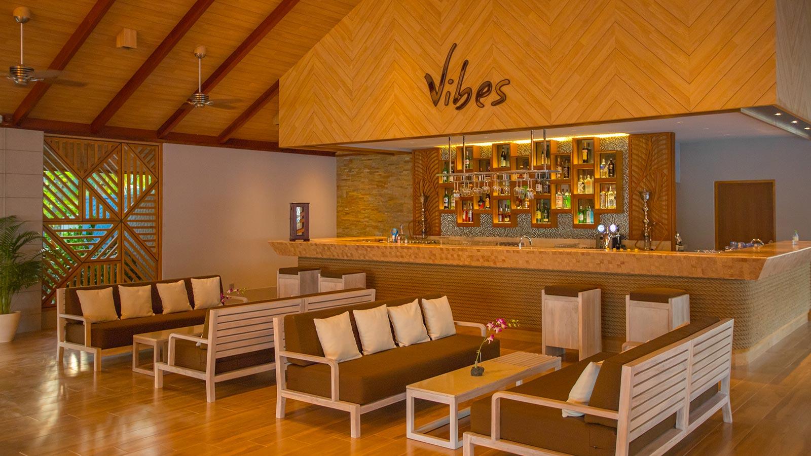 Vibes Bar at Lily Beach Maldives
