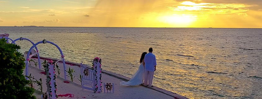 A dream wedding experience at Lily Beach