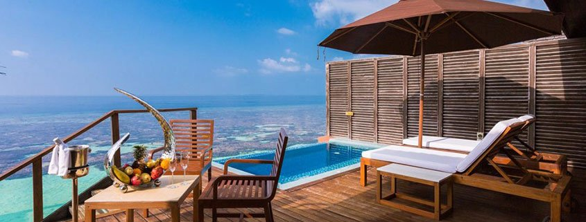 Your overwater villa at Lily Beach