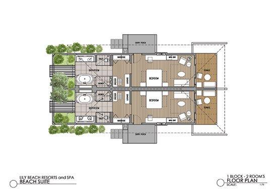 Beach Suite Floor Plan