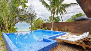 Beach Residence with Pool at Lily Beach