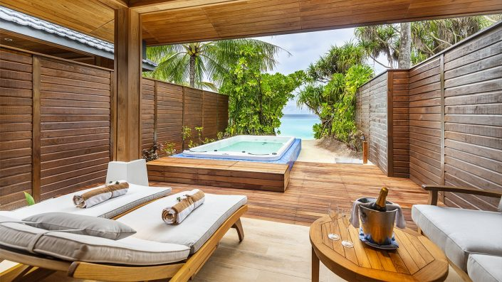 Beach Suite with Jacuzzi at Lily Beach