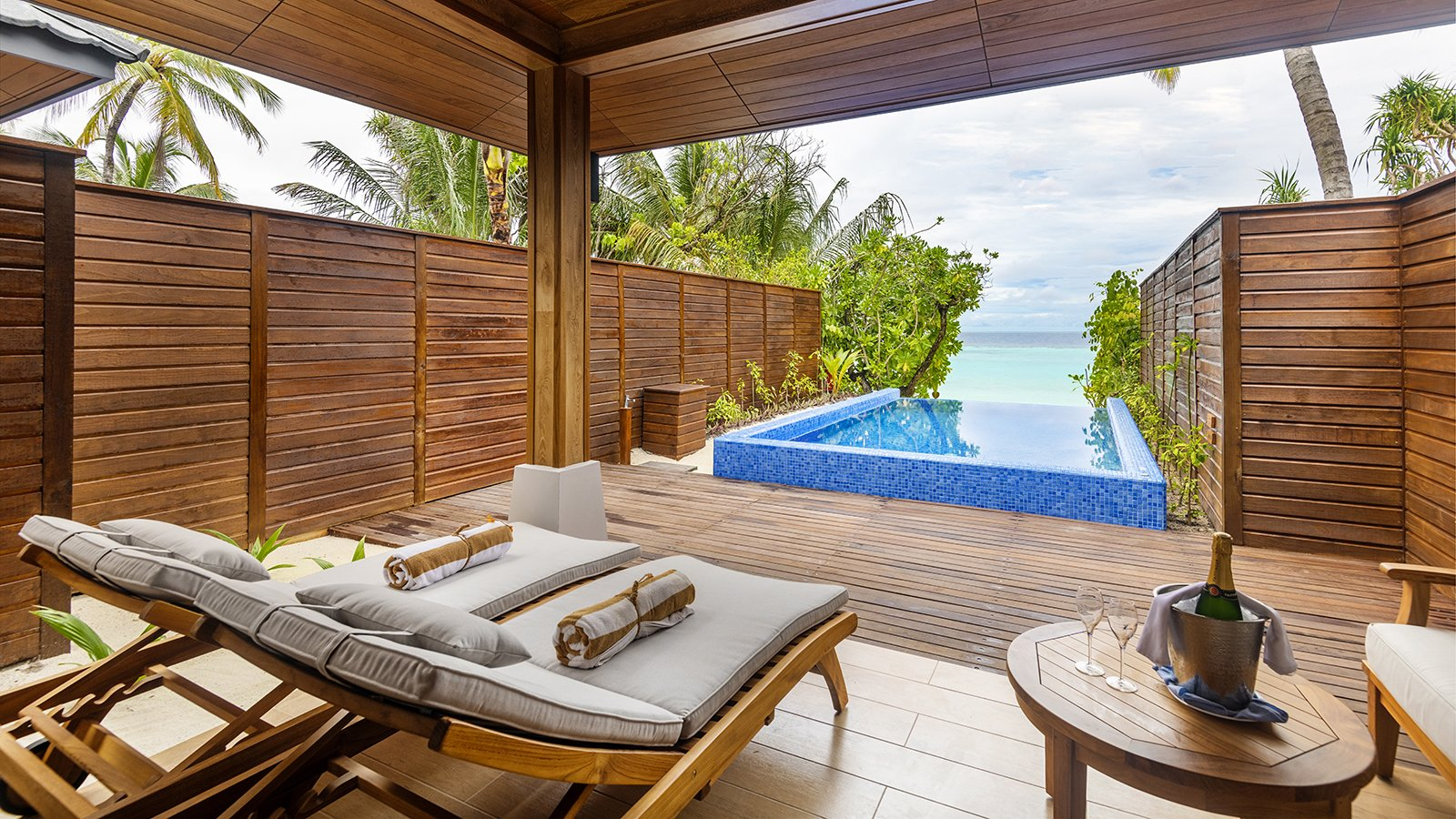 Beach Suites with Pool at Lily Beach