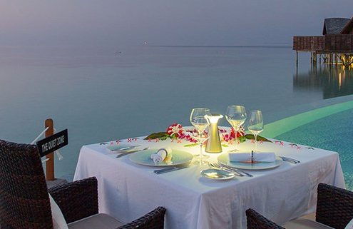 Dining around Lily Beach Maldives Resort